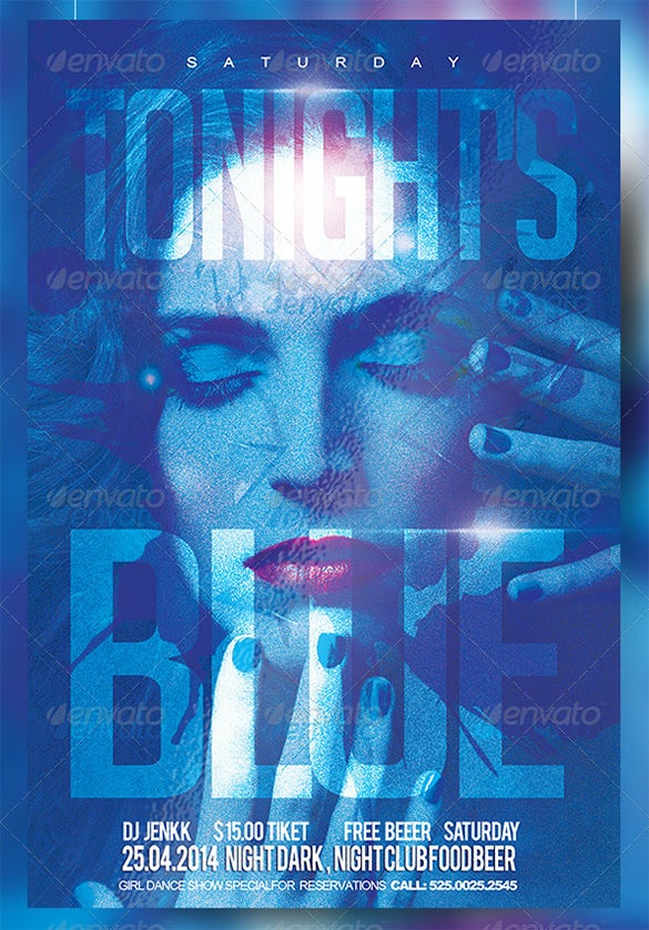 tonight is blue flyer party