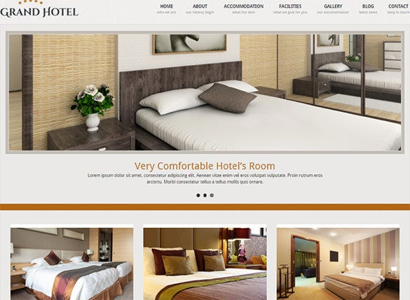 resorts business wordpress blog theme