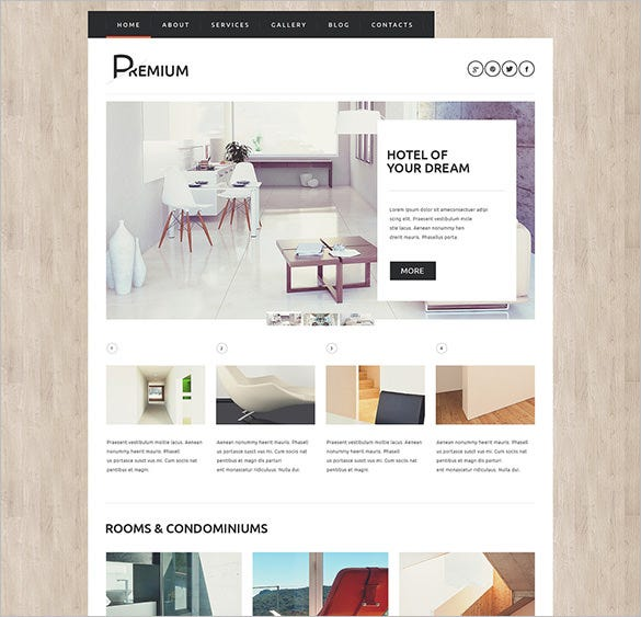 hotels booking agency wordpress blog theme