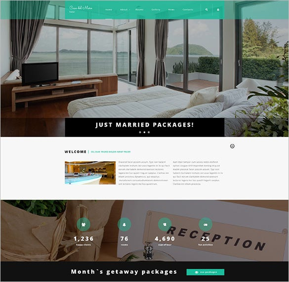 hotel suite joomla html template