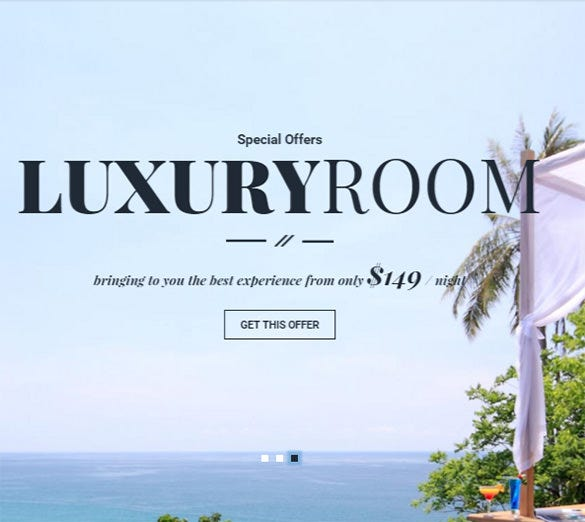 hotel html template download