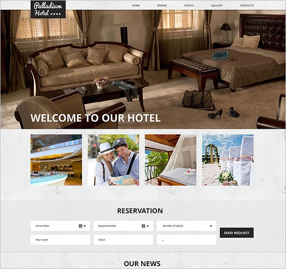 hotels responsive html5 template download