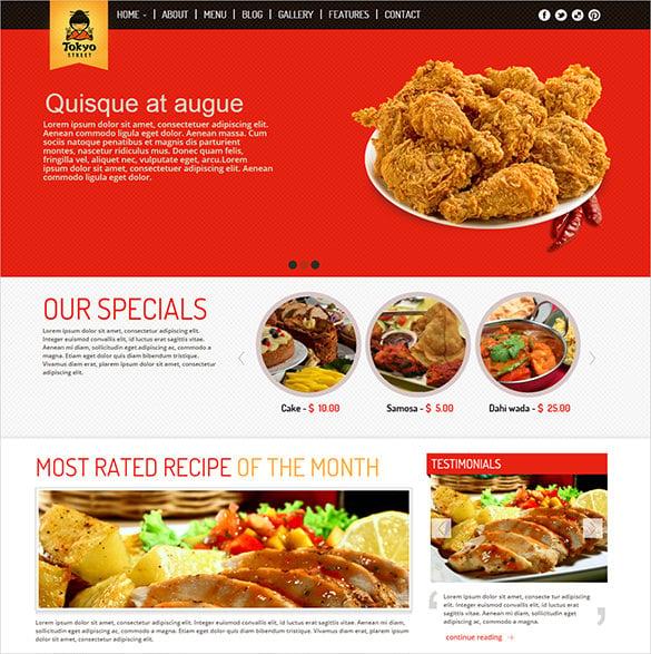 21+ Restaurant Bootstrap Themes & Templates | Free & Premium Templates
