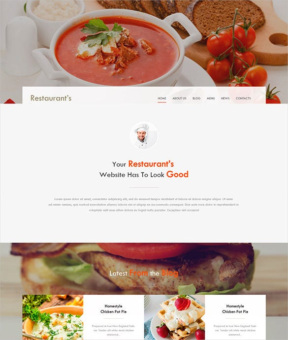 spicy restaurant bootstrap theme