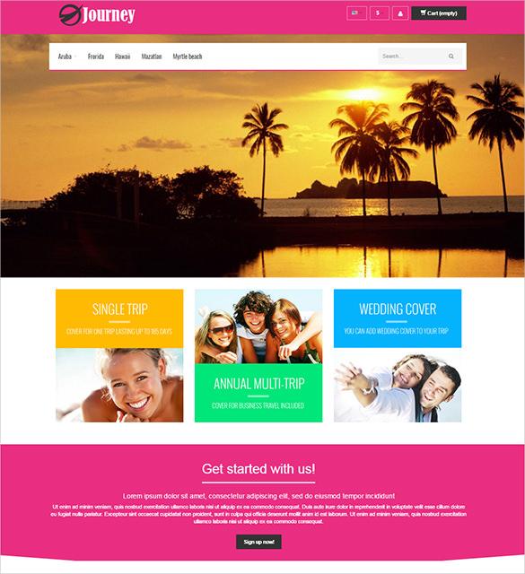 responsive travel prestashop template
