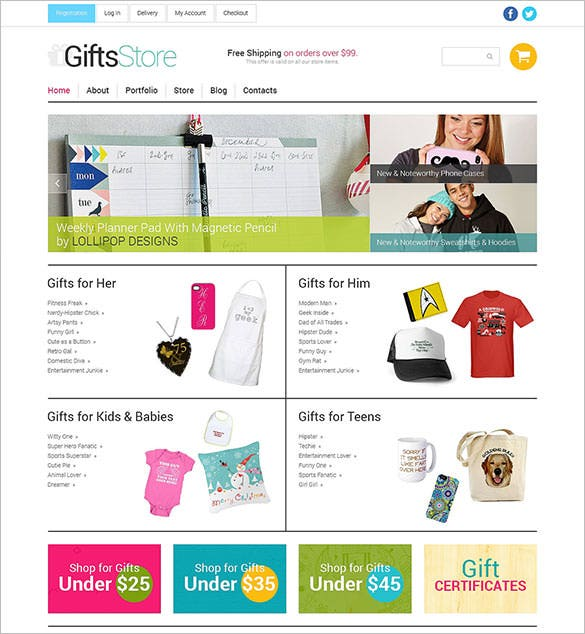 christmas gifts store responsive woocommerce theme download