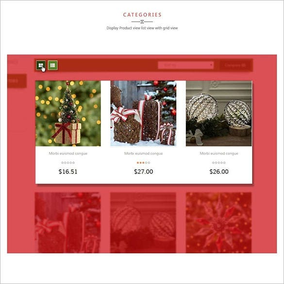 leo moonsun christmas responsive template theme