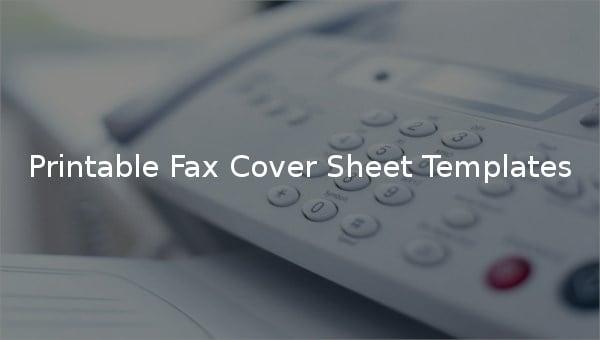 printablefaxcoversheettemplates