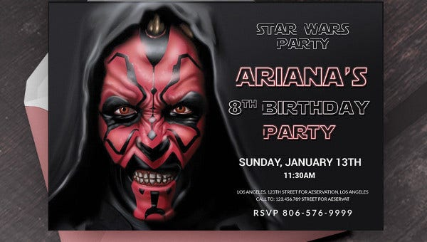 starwarsbirthdayinvitationtemplates