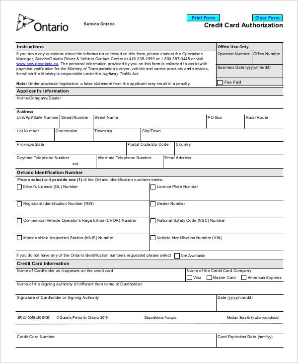company-credit-card-authorization-form-template-in-pdf