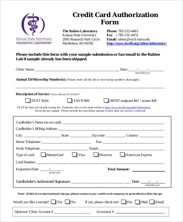 Medical Consent Form Example. Medical Authorization Form Template