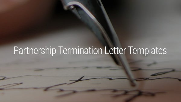 partnershipterminationlettertemplates