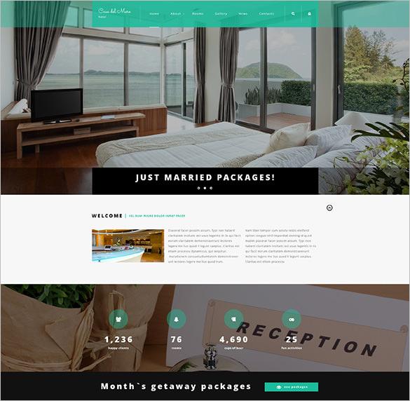hotel suite joomla bootstrap template
