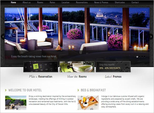 welcome inn spa ski resort php theme