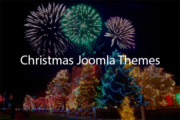 christmas joomla themes