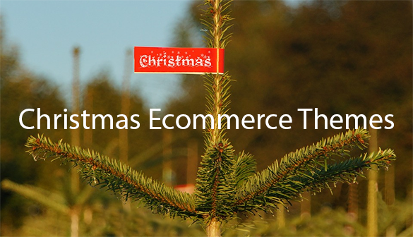 christmas ecommerce themes