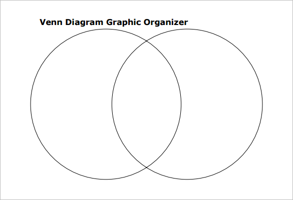 9 blank venn diagram templates pdf doc free for Compare and contrast graphic organizer template