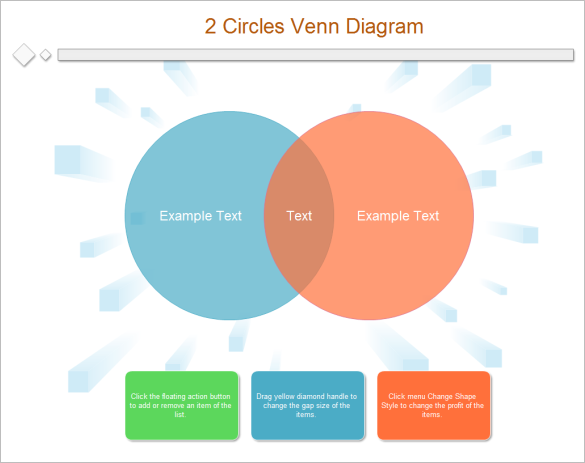 2 circles venn diagram templates free printbale