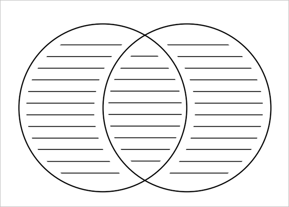 free printable venn diagram template pdf format