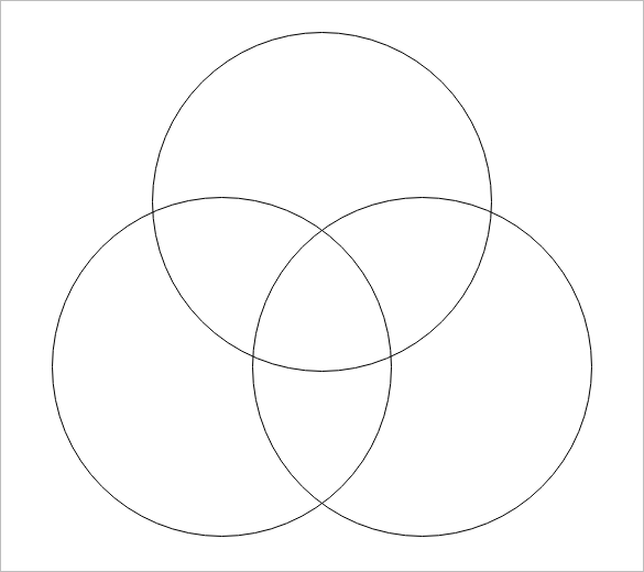 Triple Venn Diagram Templates 9 Free Word Pdf Format Download