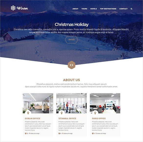 stunning travel php html theme