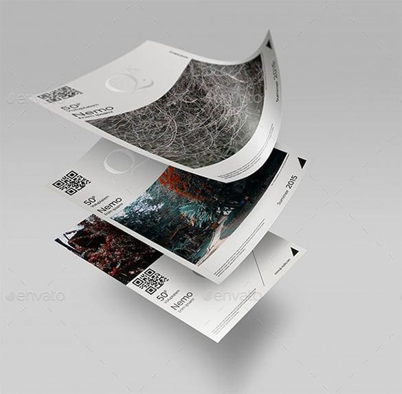 a4 a5 poster flyer mockups v2