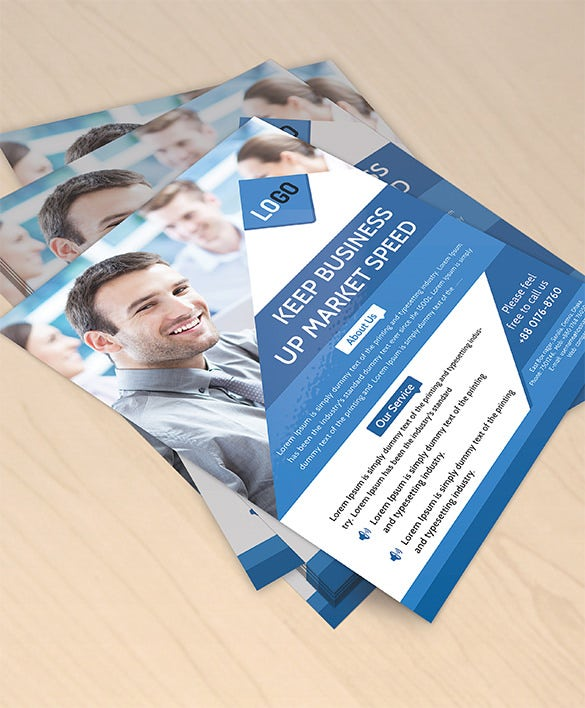 free flyer mockup download