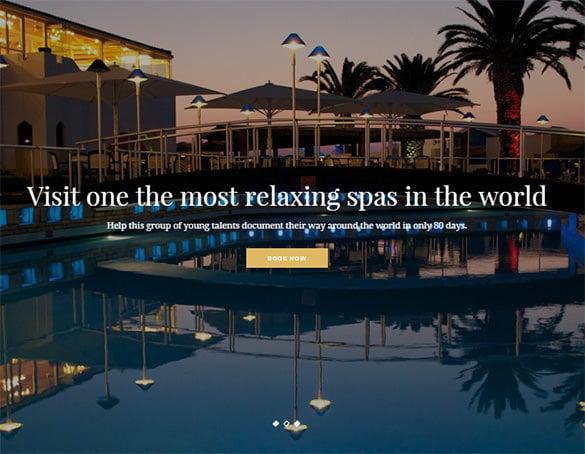 luxury hotel drupal theme download