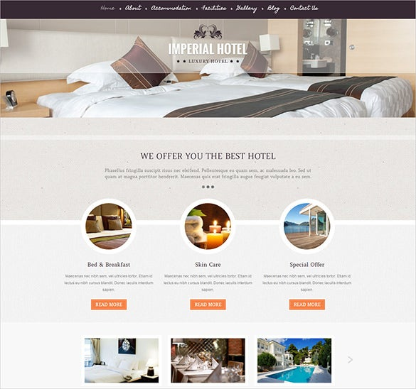 luxurious travel booking wordpress theme