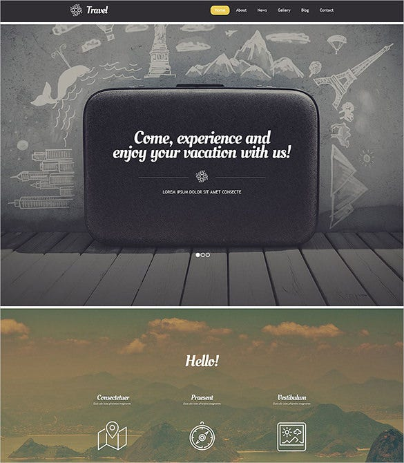 premium travel wordpress theme