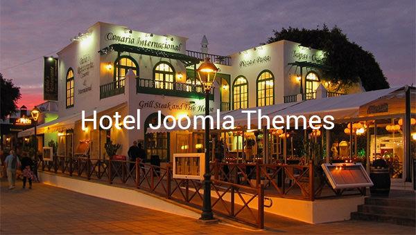 hotel joomla themes
