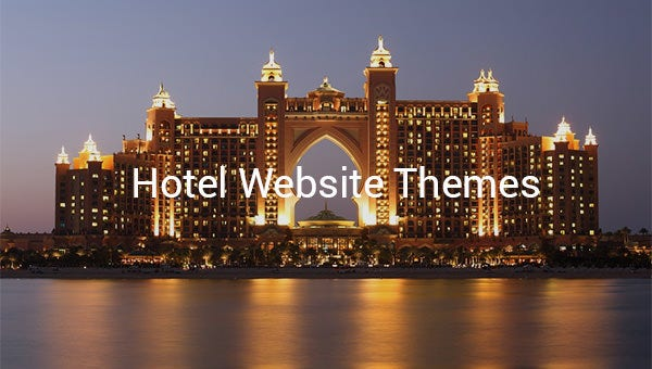 hotel website themes