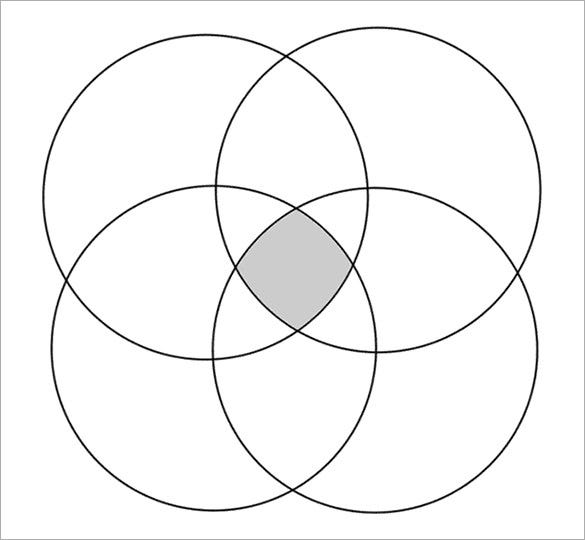 4 Venn Diagram Selowithjo