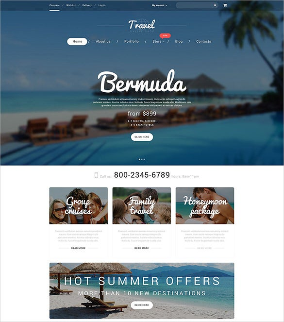 vacation agency bootstrap woocommerce theme 114