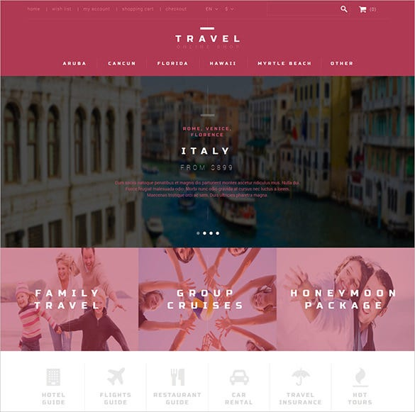 18  travel bootstrap themes  u0026 templates