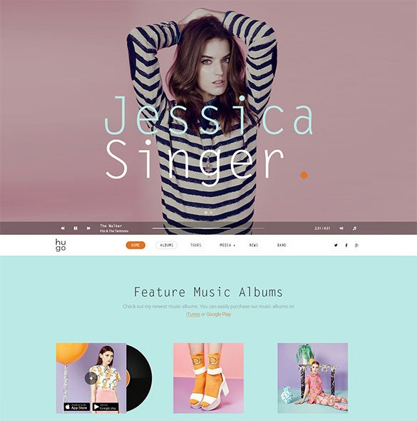 singers bands wordpress music theme