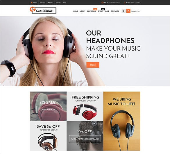 premium woocommerce music php theme