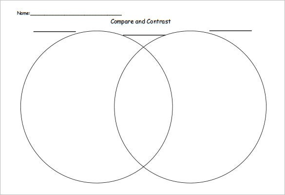 4  free venn diagram templates