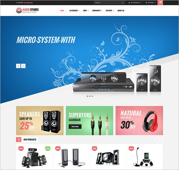 responsive multipurpose music prestashop theme