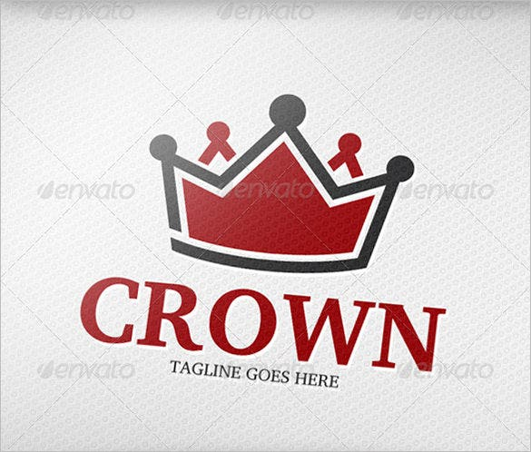 crown logo vector eps