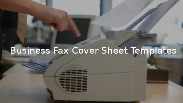 businessfaxcoversheettemplates