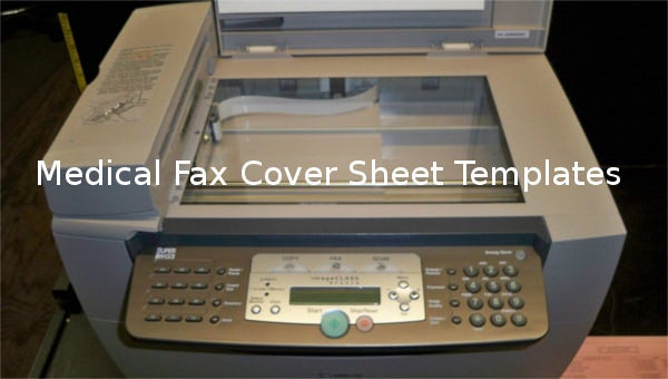 medical fax cover sheet templates