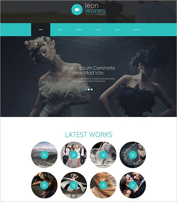 photography director joomla html5 template