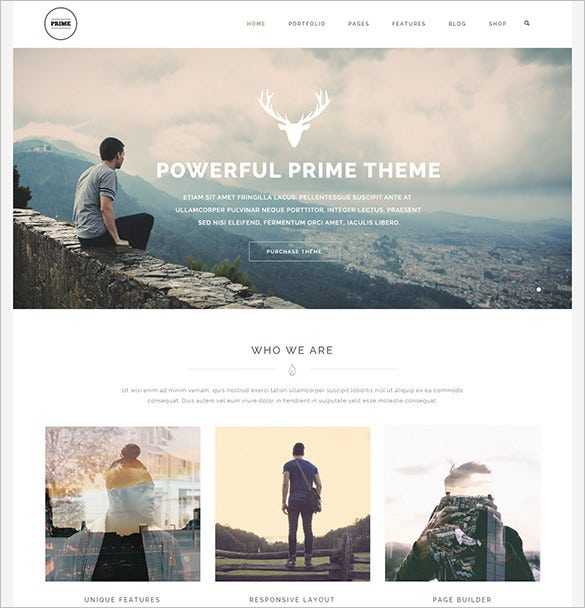 responsive multi purpose html5 template