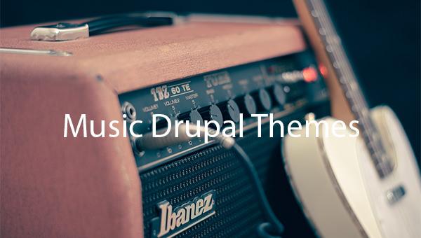 Music-Drupal-Themes