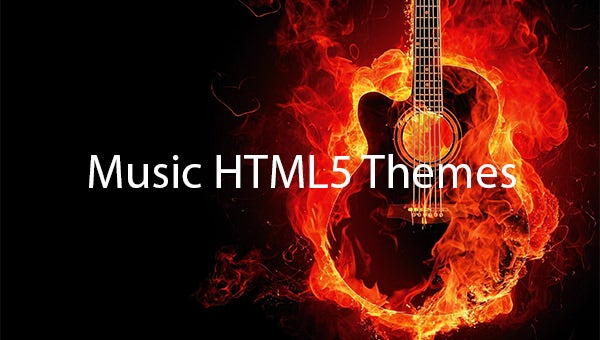 Music-HTML5-Themes