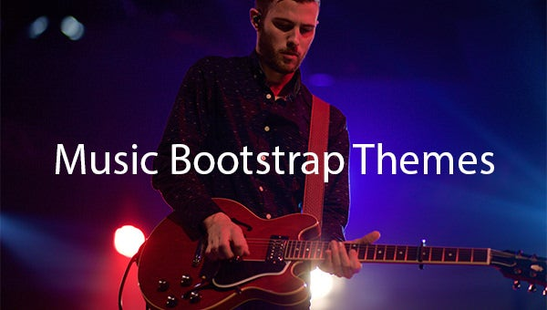 Music-Bootstrap-Themes