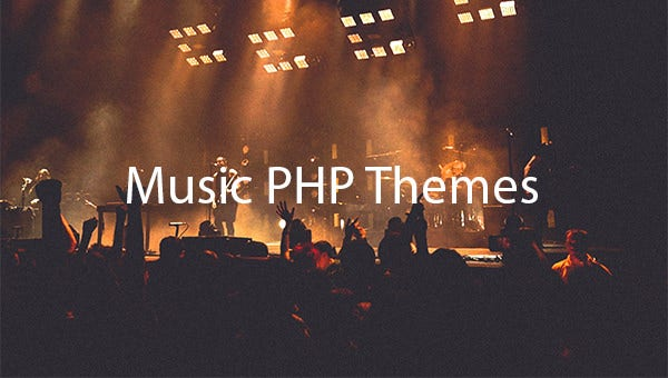 Music-PHP-Themes