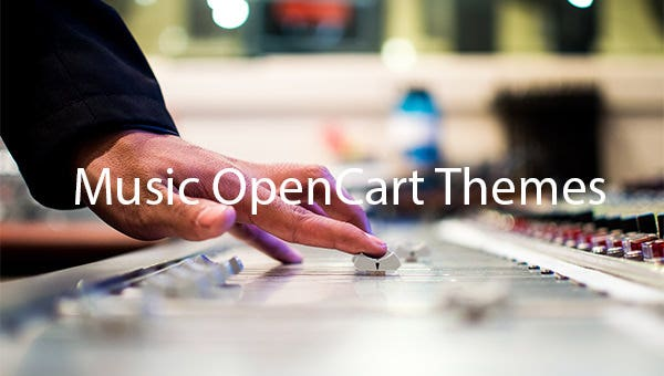 Music-OpenCart-Themes