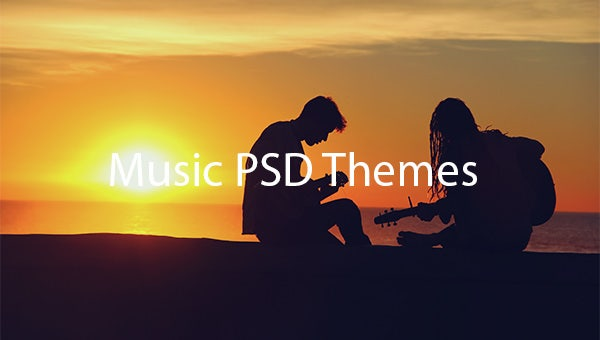 Music-PSD-Themes